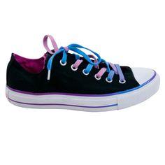Converse Women's All Star Chuck Taylor Double Tongue Ox Casual Shoe Blue, Black, Purple (6) Converse http://www.amazon.com/dp/B003WUHA0S/ref=cm_sw_r_pi_dp_SDa7vb0FZTF0X