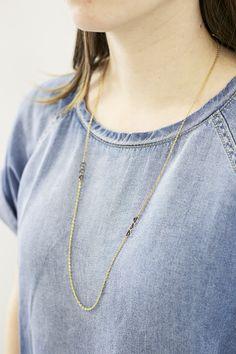 Triplets Necklace | Erica Weiner | mooreaseal.com