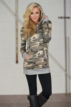 You Better Shape Up Camo Hoodie from Closet Candy Boutique #fashion #shop