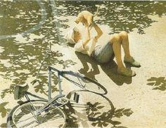 Robert Vickrey (1926 – 2001)  Egg tempera on Geso panel