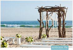 Driftwood Wedding Arch