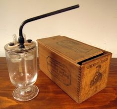 Quack Cogitations - old medical acid inhaler device once believed to relieve coughs and asthma