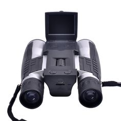 GordVE SJB013 Digital Camera Binoculars Full HD Digital Camera Spy Cameras Folding Prism Binoculars Camera. It perfectly realizes the dual functions of telescope digital imaging and video recording and it can take a clear picture in darker environment. Take s closer look at things with a 12x magnification-32mm aperture binocular system. The best choice for outdoor sports, investigation of evidence, concerts, clubs, and adventure tourism enthusiasts Elegant, exquisite and fashionable, its...