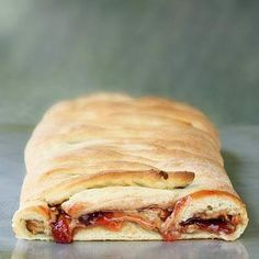 peanut butter and jelly braided bread