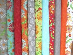 Bobbins and Bits Fabric Bundle -  Moda - Pat Sloan - Fat Quarter or Half Yard Bundle on Etsy, $30.25