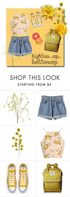 """buttercup-hippocampus"" by xellalikesukulelesx on Polyvore featuring Pier 1 Imports, Glamorous, Anello and Namrata Joshipura"
