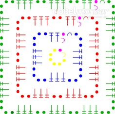 Granny Square - klassische Quadrate