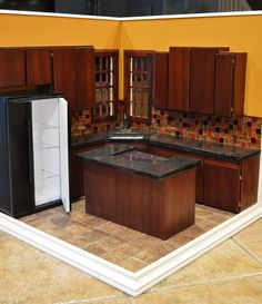 Gorgeous 1:6 Scale kitchen by Regent Miniatures. Always phenominal work.