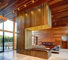House Plans Open Floor Plan With Wood Walls