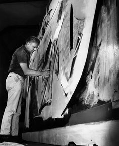 Peter Lanyon (1963) photographed by Jorge Lewinski