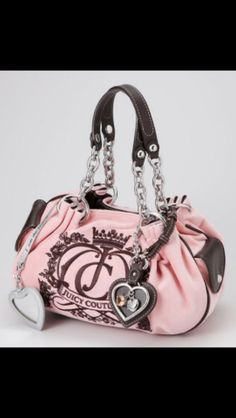 Really ❤ this bag ! Couture Purses, Juicy Couture Purse, Girly Things, Bucket Bag, Shoulder Bag, Bags, Fashion, Girl Things, Handbags