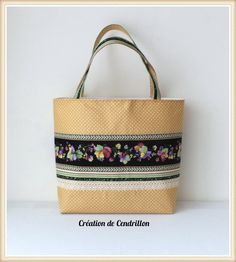 Collection Chic SAC/CABAS «Giselle» fait main : Sacs à main par creations-de-cendrillon