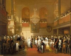 Court. Marriage of King Leopold and Marie Louise d'Orleans. 1832