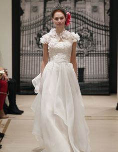 Reem Acra GREAT LUCK | Wedding Dress Designers | Ideal Bride