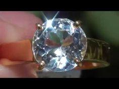 Aquamarine 2.44ct 18ct Gold Ring