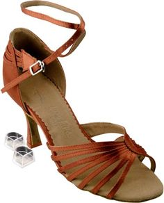 Size 6 1//2 2.5 Heel SERA1606 Beige PU Leather Party Party Beige Dance Shoes
