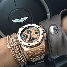 Audemars Piguet X Anil Arjandas Jewels X Aston Martin X Hermes