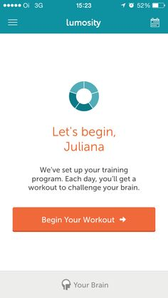 Lumosity Your Brain, Training Programs, Challenges, Let It Be, Workout, Day, Life, Apps, Tours