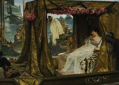 Lawrence Alma-Tadema- Anthony and Cleopatra.
