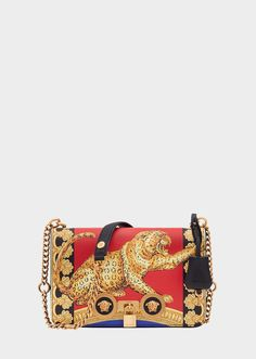 4ab731792231 Versace Medium Pillow Talk Print Icon Shoulder Bag for Women