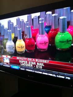 Superstar Nail Lacquer in the News. Beauty on a Budget segment.