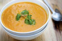 Carrot Ginger Sweet Potato Soup