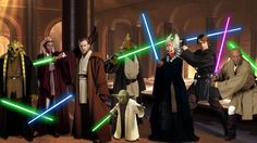 Learn how to be a Jedi by living according to the practices and preaches of the Jedi Order and following the Jedi Code.