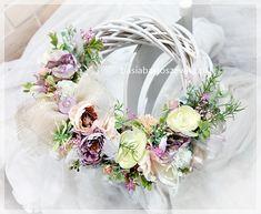 Floral Wreath, Easter, Wreaths, Flowers, Home Decor, Floral Crown, Decoration Home, Door Wreaths, Room Decor