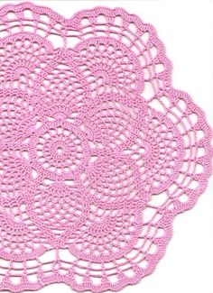 Crochet doily lace doily table decoration by faustapink900 on Etsy, £5.00