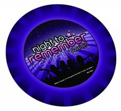 Night To Remember Paper Plates 10 Pack Bachelorette Supplies, A Night To Remember, Different Quotes, Served Up, Paper Plates, Packaging, Wellness, Personal Care, Health