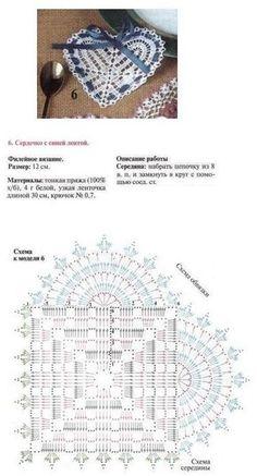 Hart haken met diagram