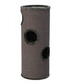 Met de krabton Dasha III zullen uw katten genieten van ligplaatsen zowel op, als in de krabton. Koop de Krabton Dasha bij uw krabpaal specialist Dierenvilla.nl