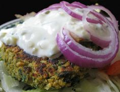 """Falafel: """"I absolutely love falafel and have been searching for a good recipe. This one is it! Great recipe with fantastic flavor. So much better than the mixes. Instead of pita pockets I used sun-dried tomato wraps."""" -401Angie"""