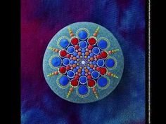 Stop motion mandala stone by Elspeth McLean music by Adam Dobres and Jason Lowe - YouTube