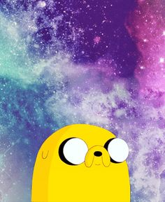 • Adventure Time drawing cute space Jake the Dog jake awsome hora de aventura kittyvondergeist •