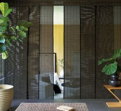 Woven wood panel track window treatment  smith-and-noble-panel-track-web-large.jpg (518×480)