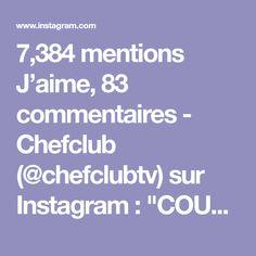 """7,384 mentions J'aime, 83 commentaires - Chefclub (@chefclubtv) sur Instagram: """"COURONNE APÉRITIVE 👑 Couronne apéritive sans roi ! Un apéro très démocratique 😻 #chefclub…"""""""