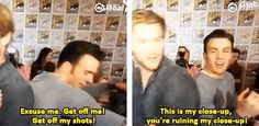 What is with this sibling rivalry?? Christophers, explain. | 17 Times Chris Evans Needed To Explain Himself