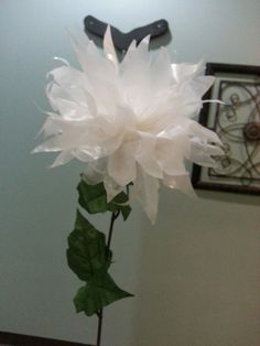 12 best flowers wax paper images on pinterest paper flowers diy wax paper flower mightylinksfo