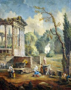 Painting from Hubert Robert