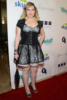 Kirsten Vangsness - Arrivals at the Thirst Project's 4th Annual Gala---I really like this look.
