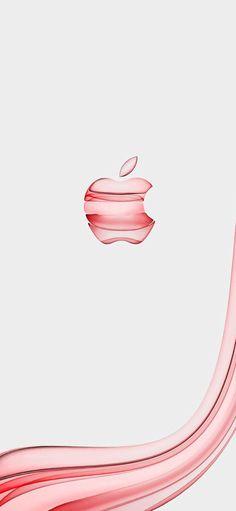 Apple Wallpaper Iphone, I Wallpaper, Apple Iphone, Iphone Wallpapers, Apple Logo Design, Pink Apple, Logo Branding, Abstract, Color