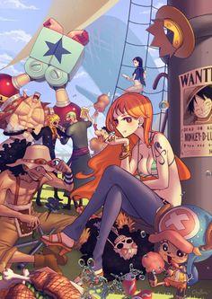 One Piece - Bando do Chapéu de Palha.