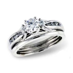 Best new wedding rings Fire and ice wedding ring