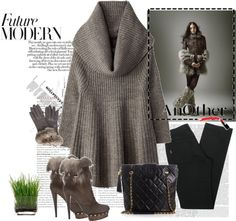 """Faux Fur"" by cabdesign on Polyvore"