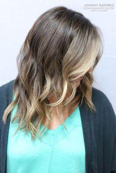 My hair color creation Hair Color by Johnny Ramirez • IG: @johnnyramirez1 • Appointment inquiries please call Ramirez|Tran Salon in Beverly Hills at 310.724.8167. #hair #besthair #fallhair #johnnyramirez #highlights #model #ramireztransalon #sunkissedhighlights #bestsalon #beauty #lahair #blonde #highlights #caramel #salon #brunettehair #beautifulhair #ramireztran #ramireztransalon #johnnyramirez #sexyhair #livedinhair #livedincolor #livedinblonde