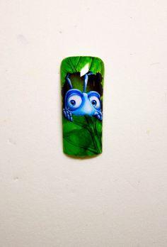 A Bug's Life   Nail Art by Pisut Masanong    #nail #nails #nailsart