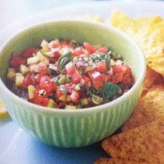 Trisha Yearwood watermelon salsa