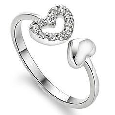 925 anillos de plata de la manera de las mujeres Aimei
