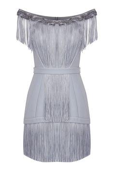 Kadın Gümüş Rengi Elbise